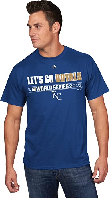 Majestic Kansas City Royals Mens Cooperstown League Supreme T-Shirt