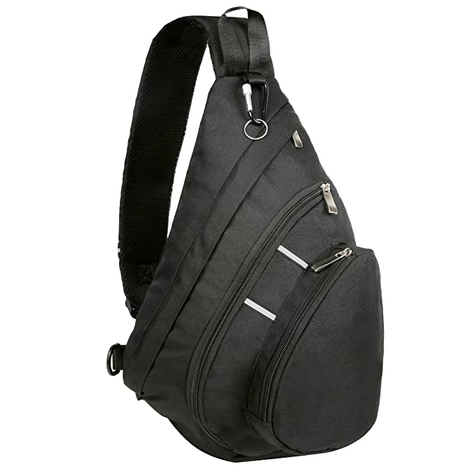 Bekahizar Sling Backpack Bag Cross Body Chest Shoulder Pack for Men Women f454586d5648f
