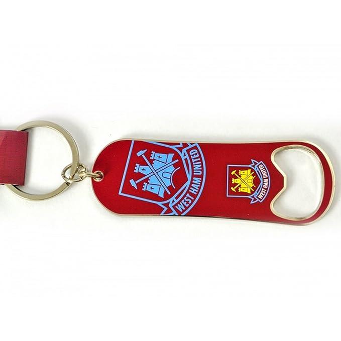 West Ham FC - Elegante llavero abrebotellas clásico oficial ...