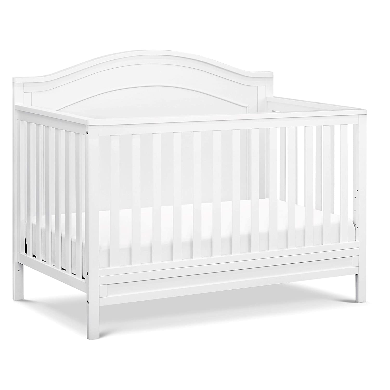 DaVinci Charlie 4-in-1 Convertible Crib in White, Greenguard Gold Certified