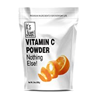 It's Just - Vitamin C Powder, 100% Pure Ascorbic Acid, Non-GMO, Immune Support,...