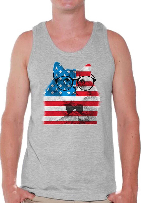 American themed tank tops