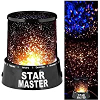Star Sky Night Romatic Gift Cosmos Master Projector Starry Night Light Lamp, W 37.2 x H 32.6 x L 3.8 cm