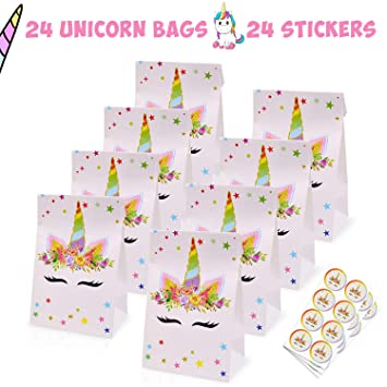 Amazon.com: Unicorn bolsas de caramelos para regalar ...