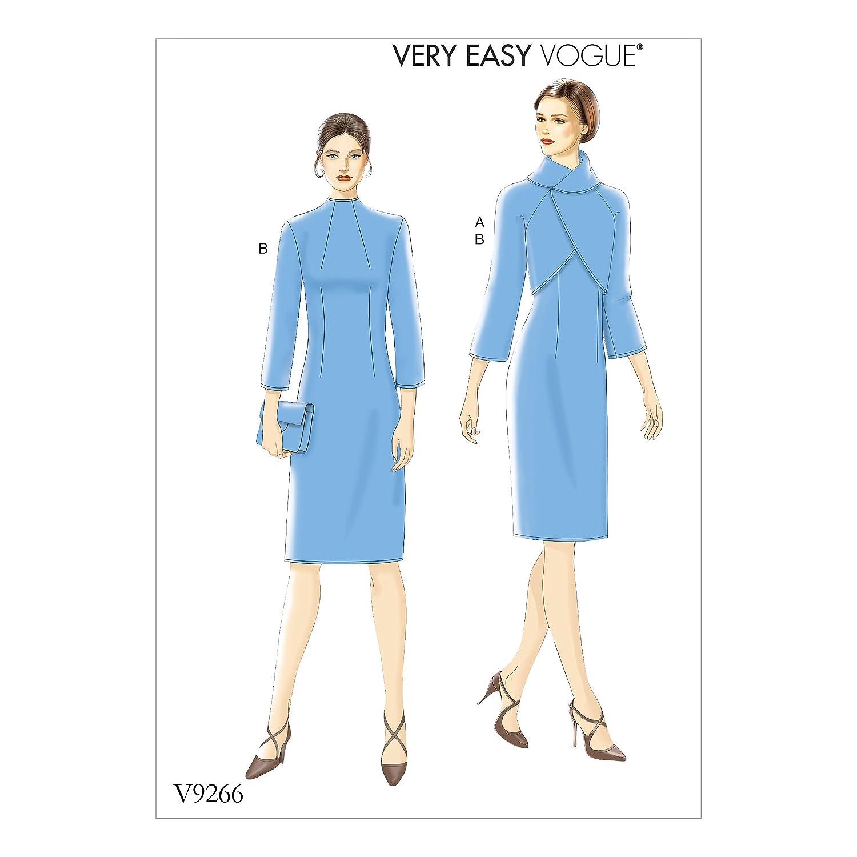 Vogue Mustern Vogue 9266 E5, Schnittmuster Jacke Kleid, Größen 14–22 ...