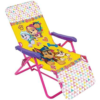 Amazon.com: Nickelodeon Paw Patrol Skye silla plegable de ...