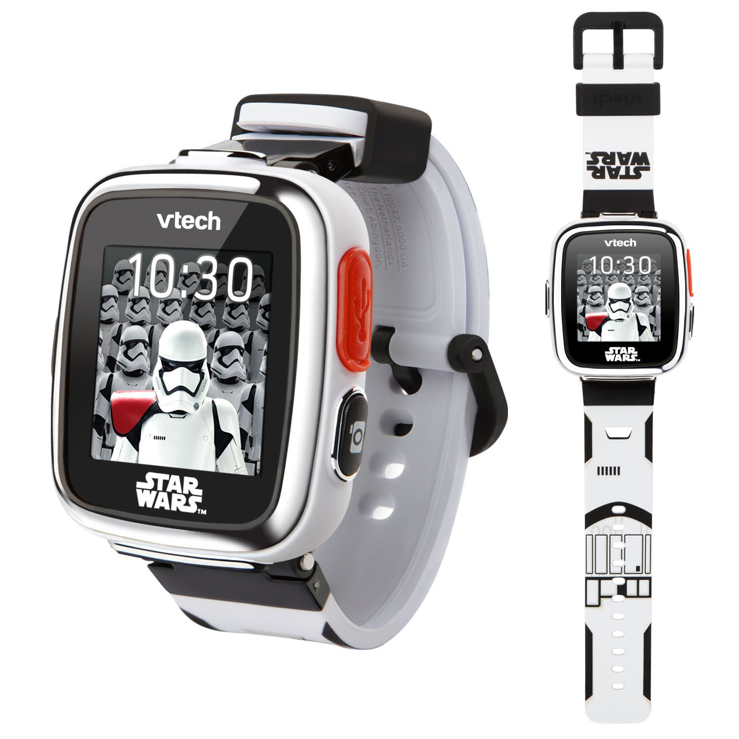 VTech Star Wars First Order Stormtrooper Smartwatch with Camera Amazon Exclusive, White by VTech