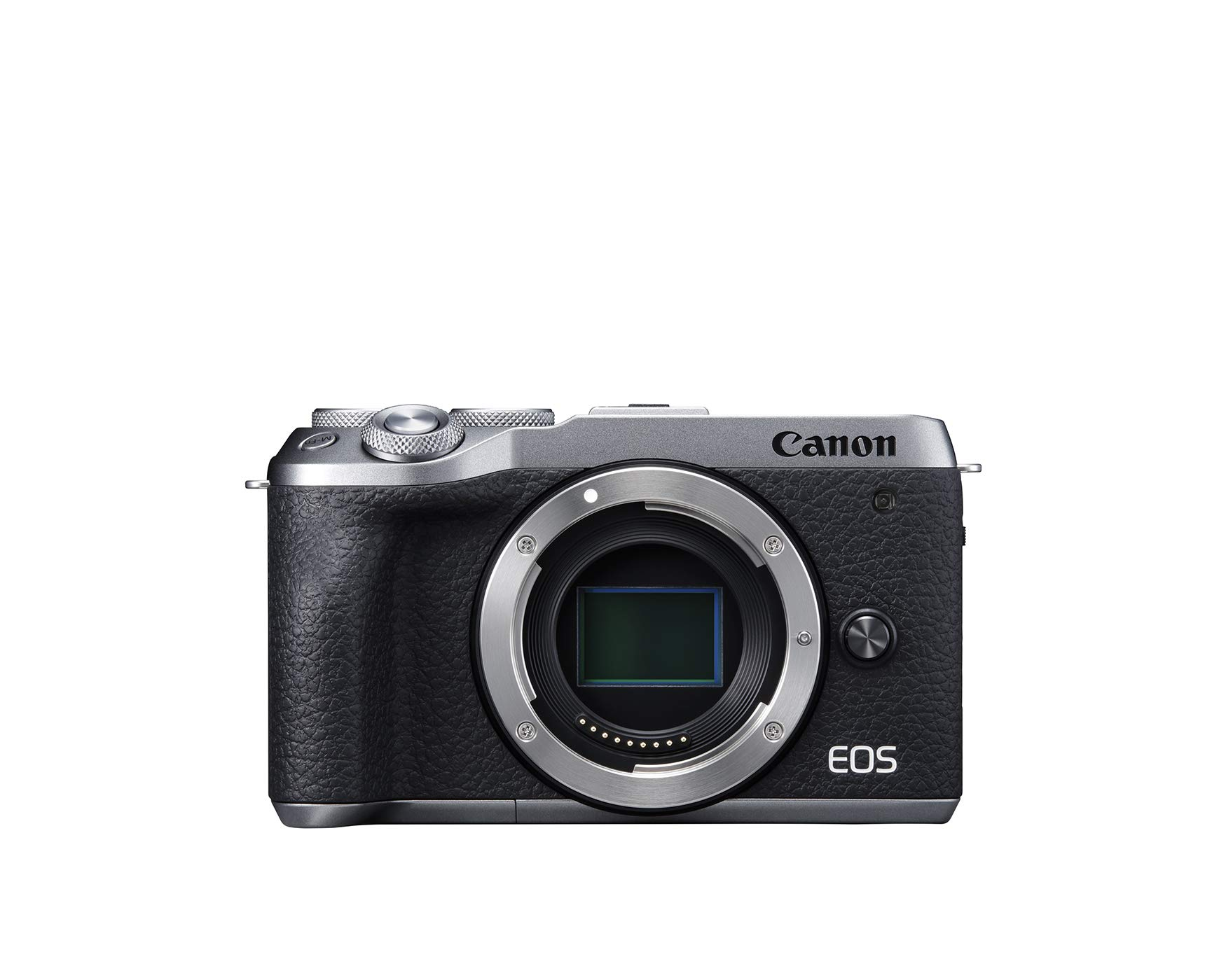 Canon EOS M6 Mark II Mirrorless Camera, Body (Silver) by Canon