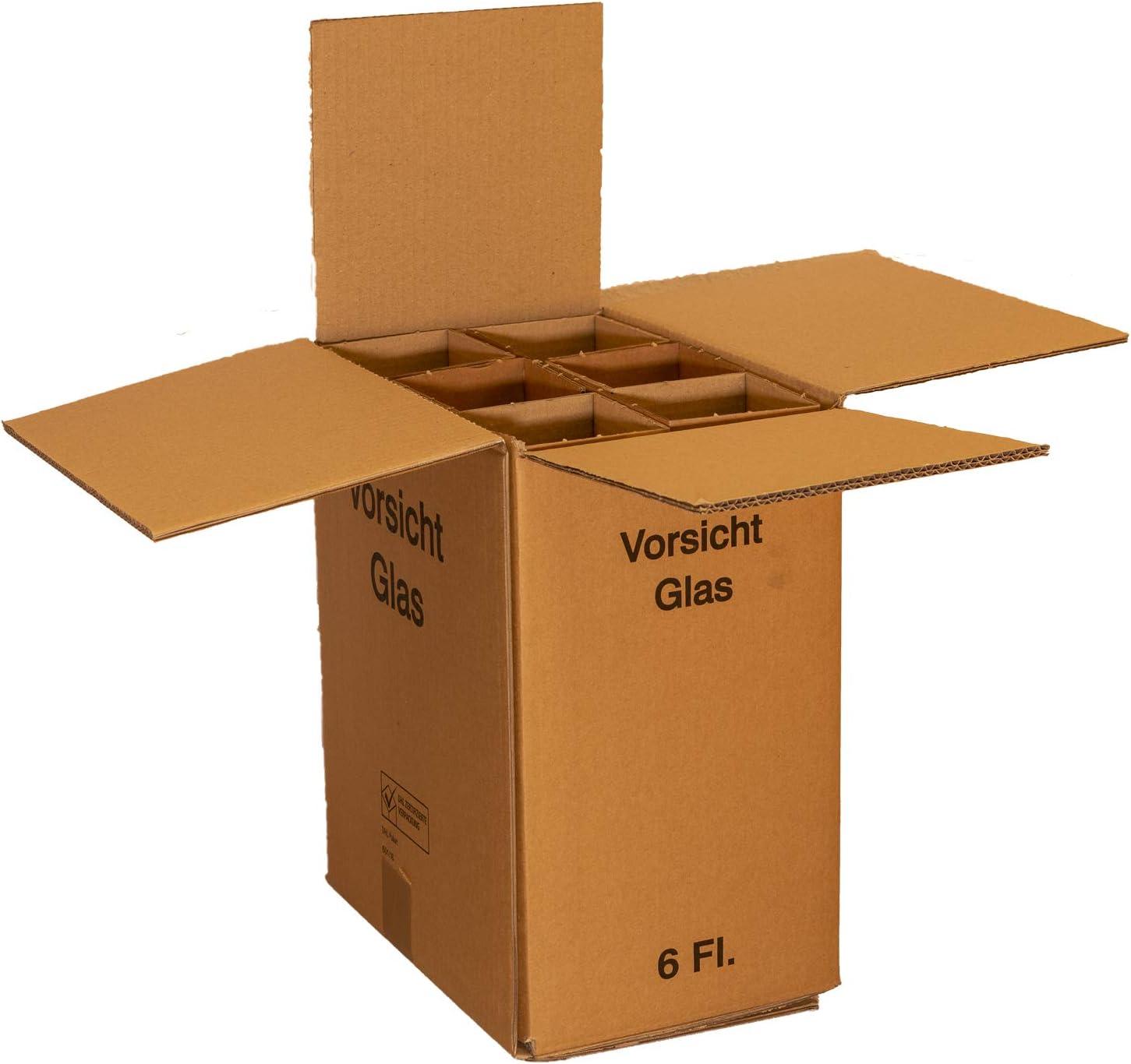 Botella de vino de cartón cartón para 6 botellas. Top Calidad. Comprobado..: Amazon.es: Oficina y papelería