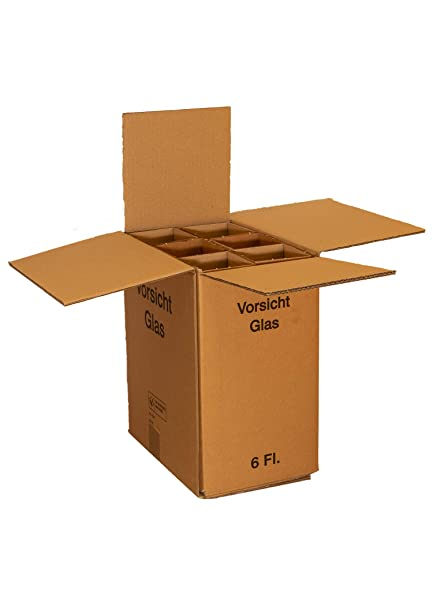 Botella de vino de cartón cartón para 6 botellas, con DHL y ...