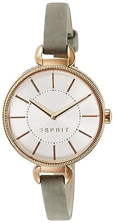Esprit damenuhren lederarmband  ESPRIT Damen-Armbanduhr ES108582002: Amazon.de: Uhren