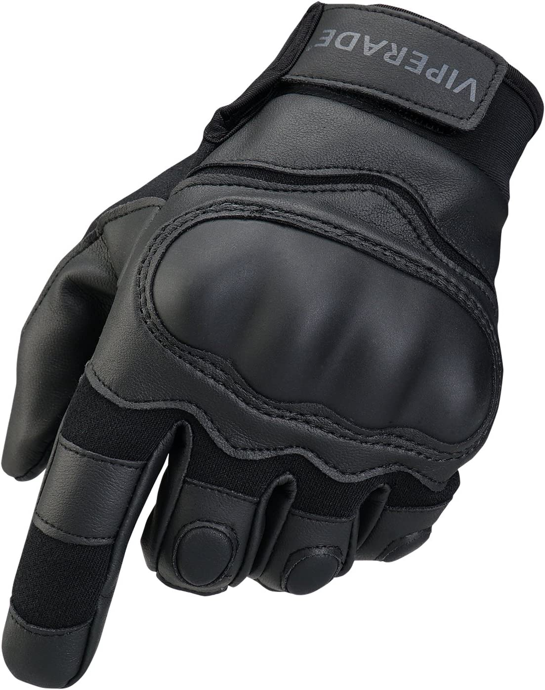 Viperade Mens Tactical Gloves Military Rubber Hard Knuckle Outdoor Glove | Heavy Duty Glove