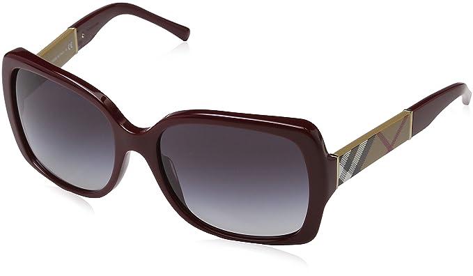 Burberry BE4107, Gafas de Sol para Mujer, Marrón (Havana ...