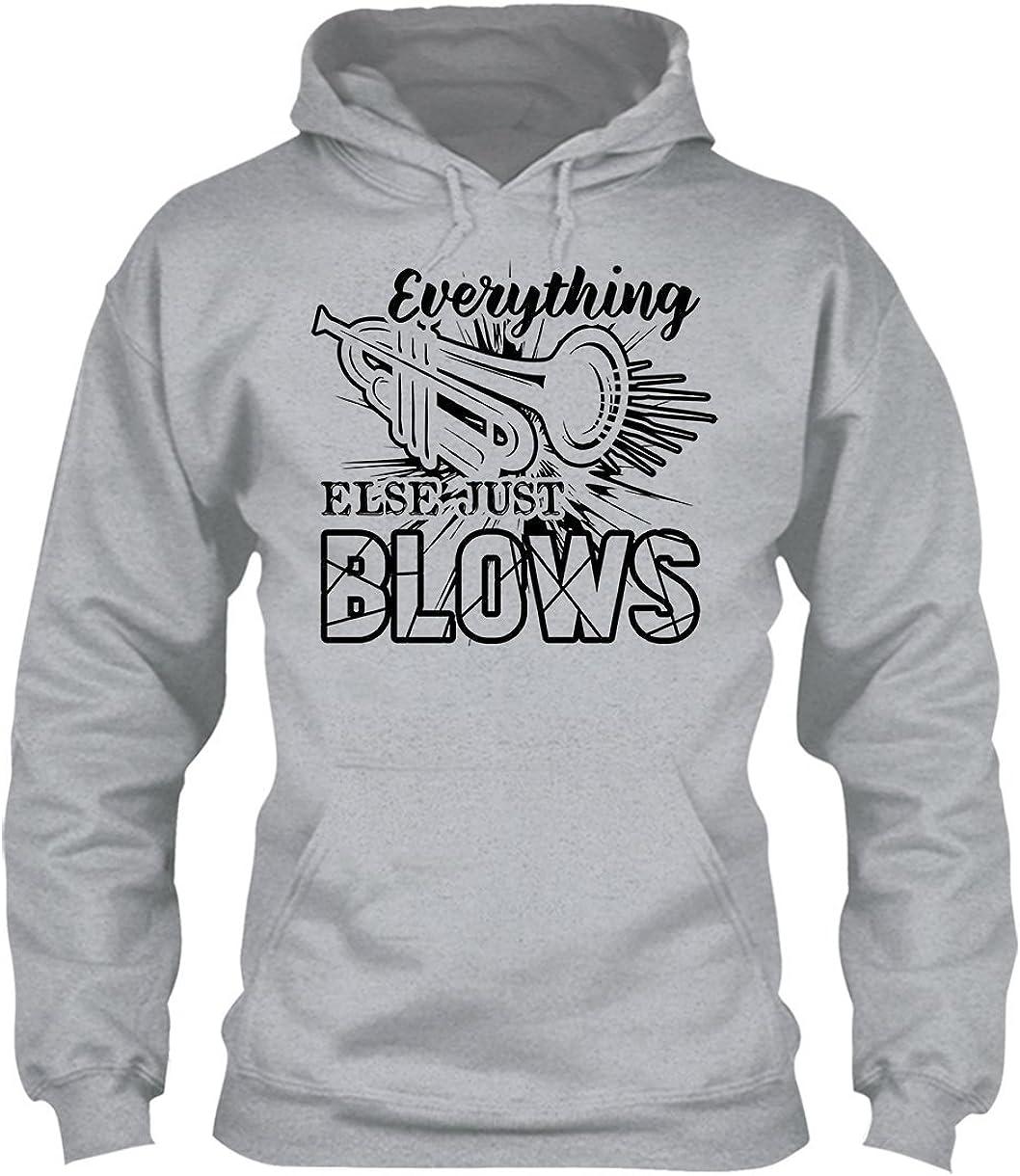 Tee Shirt Clothing Big Grey Blows Trumpet Shirt