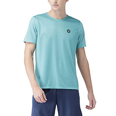 2Go Activewear Men's Printed Regular Fit T-Shirt at Men's Clothing store