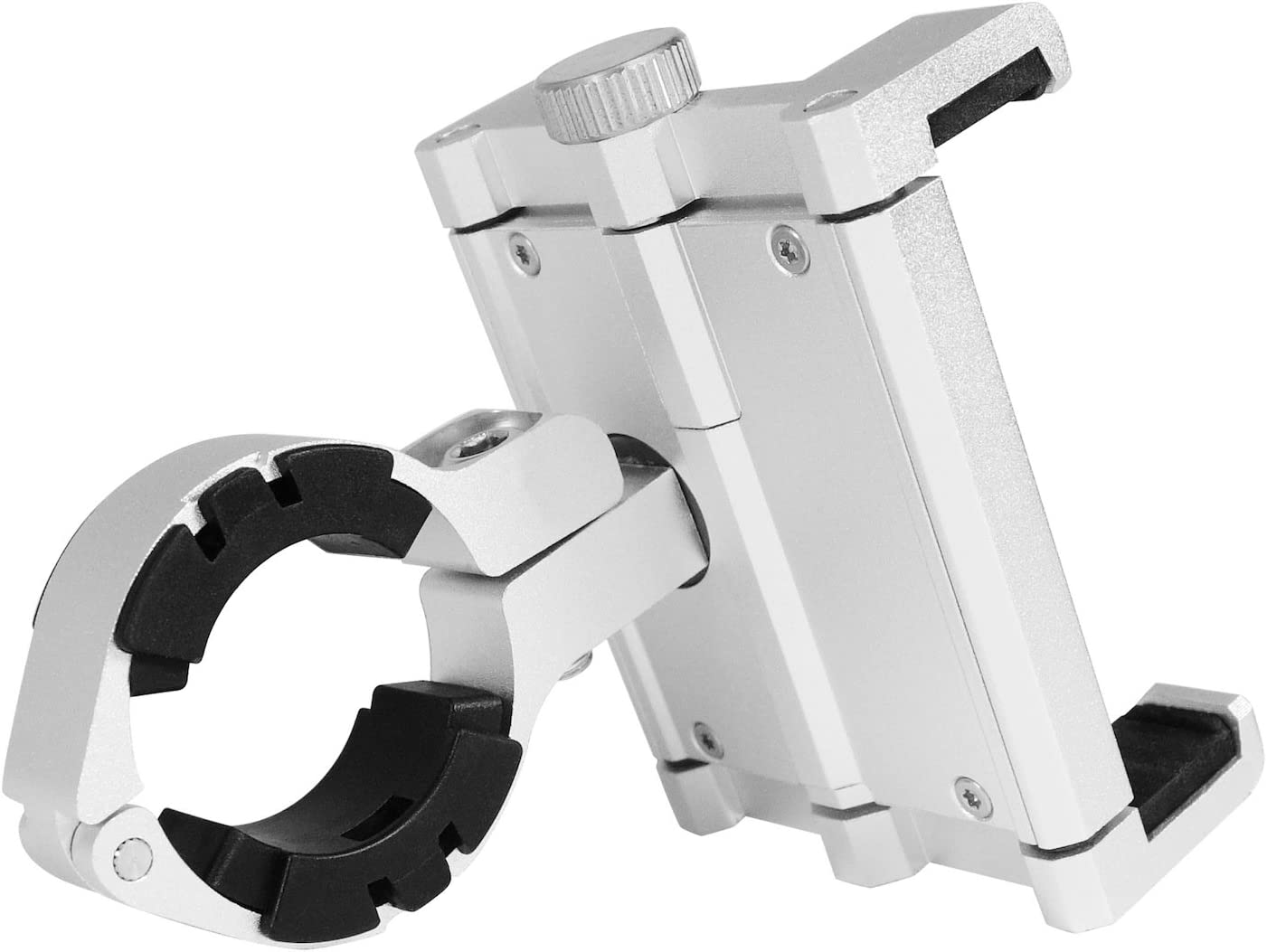 Silver for iPhone and Smartphones Macally Bikemount Up to 87 mm Wide