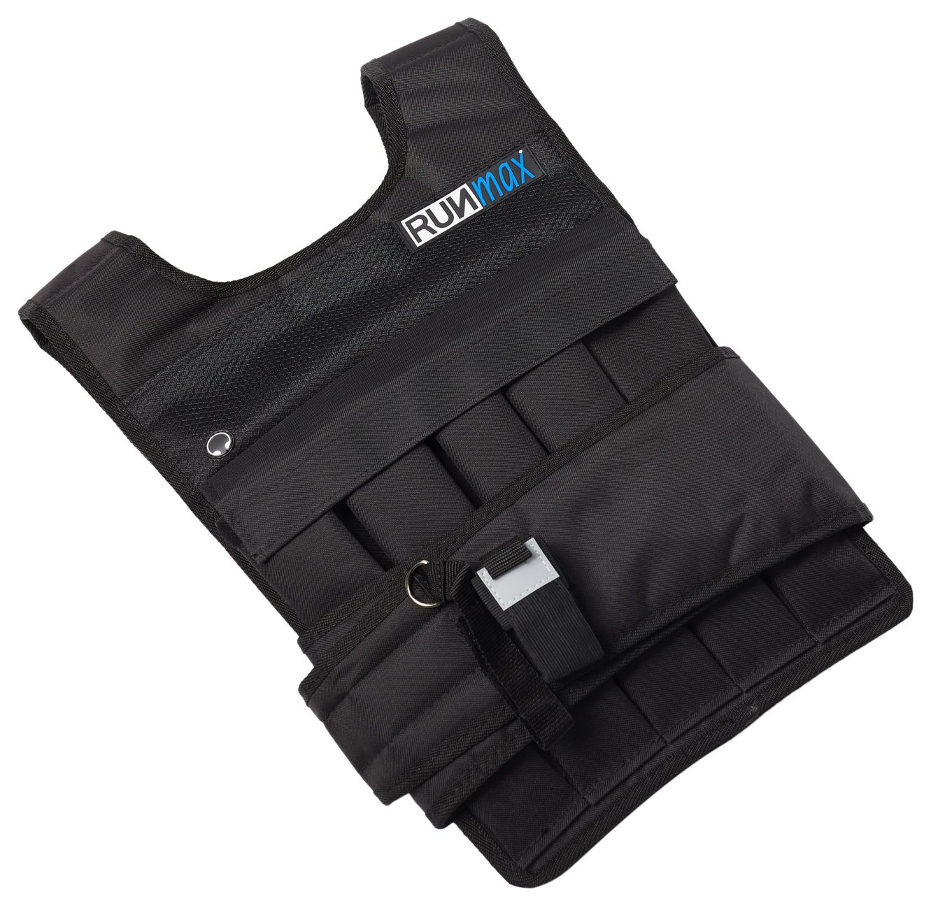 RUNFast RM_40 Pro Weighted Vest 12lbs.-60 lbs. (Without Shoulder Pads, 40 lb.) by RUNmax (Image #1)