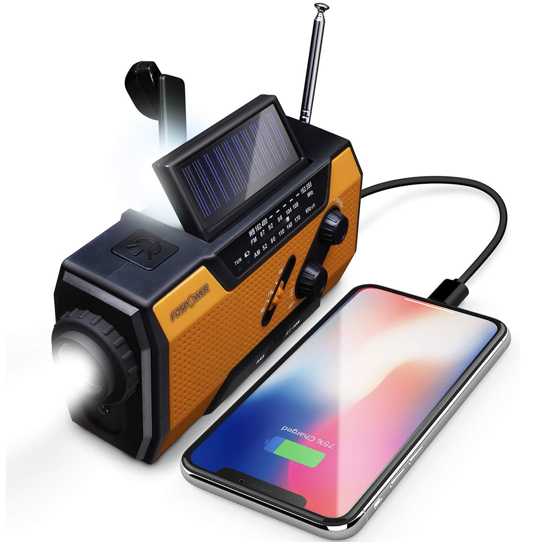 Solar Hand Crank Portable Radio
