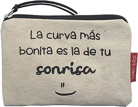 Hello-Bags Bolso Monedero/Billetero/Tarjetero. Algodón 100 ...