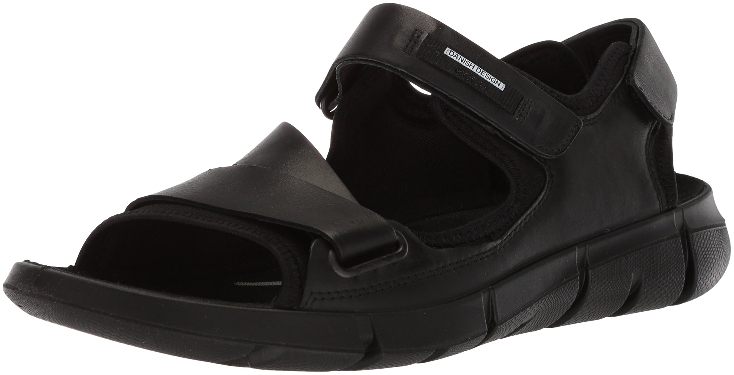 ECCO Men's Intrinsic 2 Sport Sandal Black, 44 M EU (10-10.5 US)