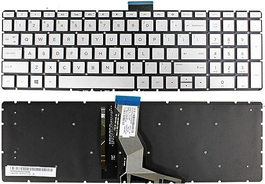 Givwizd Laptop Replacement Non-Backlit Keyboard for HP 17-ca0047ur 17-ca0048ur 17-ca0049ur 17-ca0050ur 17-ca0051ur 17-ca0052ur 17-ca0053ur 17-ca0054ur 17-ca0055ur US Layout Silver Color