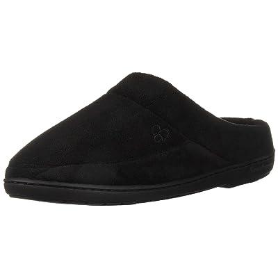 Dearfoams Women's Elaine Microfiber Terry Moc Toe Clog Slipper | Slippers