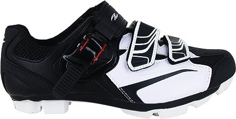 Zol Zapatillas para ciclismo de montaña y en pista; color blanco.