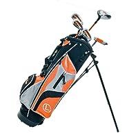 Longridge Junior Challenger Cadet Right Hand Golf Package Set - Orange, 8 Year Plus