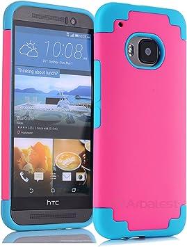 HTC One M9 Funda - Arbalest Avanzada Dual Coating Hybrid Combo ...
