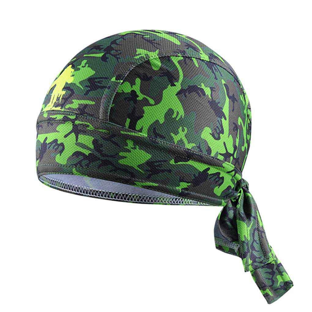 Bobury Cappello di Raffreddamento della Bici delluomo di Estate Estate Cappello di Riciclaggio Traspirante della Sciarpa della Testa del Cappello