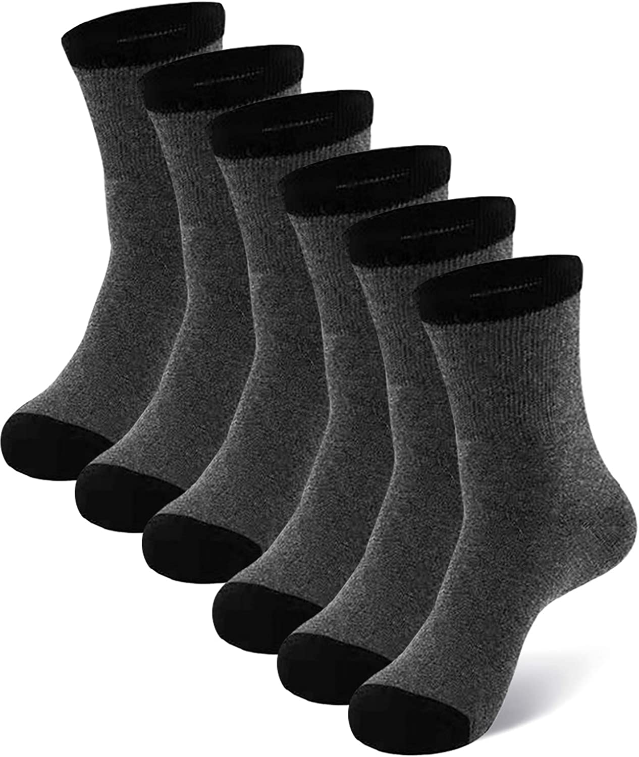 Mens Diabetic Socks with Non-binding Top and Seamless Extra Wide Cotton Ankle