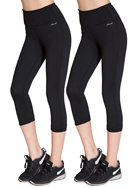 Amazon.com: aenlley Womens Activewear Yoga pantalones Alto ...