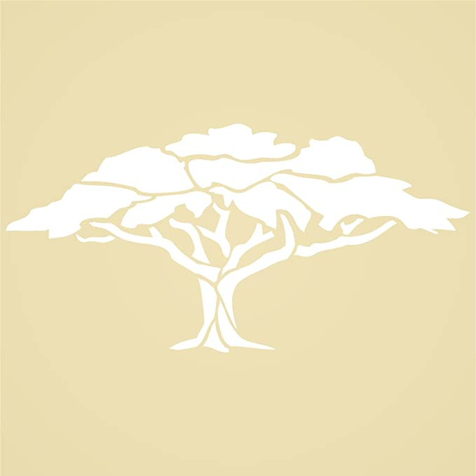 Amazon.com: Shade Tree Stencil - (size 13