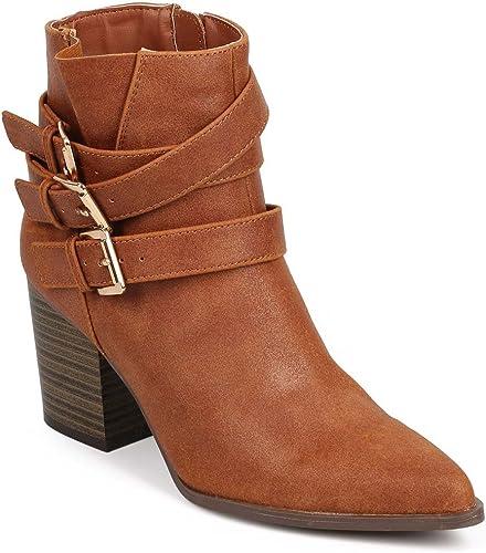 Amazon.com   Qupid Women Leatherette