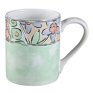 Amazon.com | Corelle Impressions Watercolors 11-Oz Stoneware Mug ...