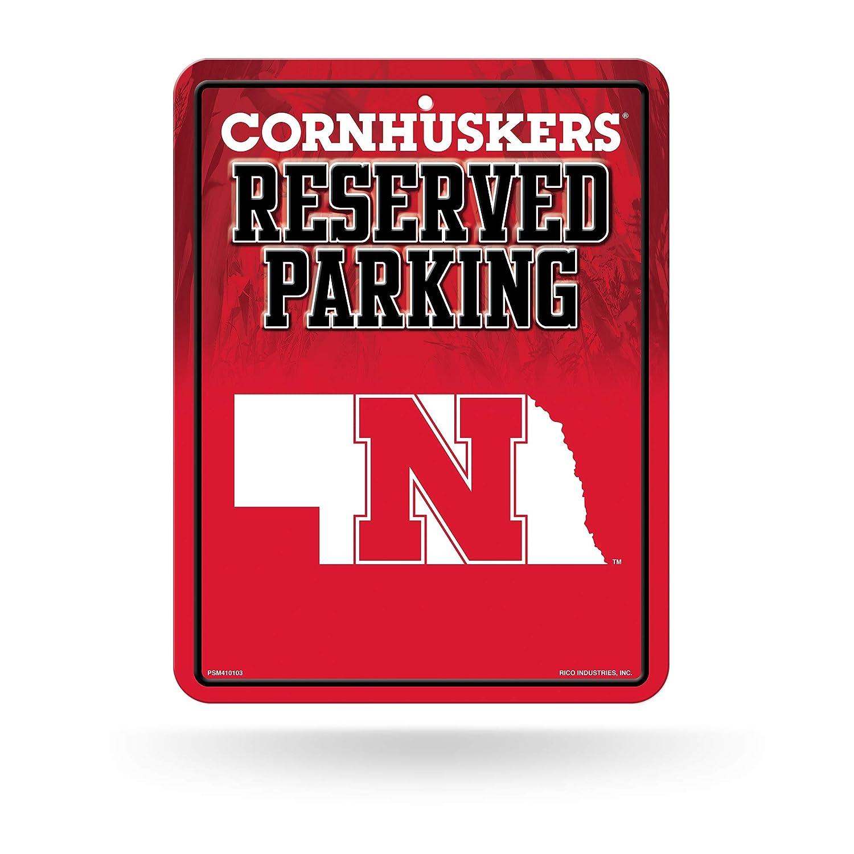 G/én/érique NCAA Haute r/ésolution en m/étal de Parking Sign