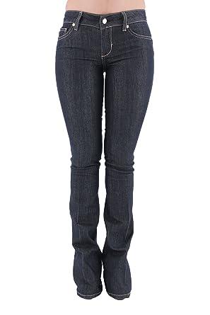 Liu Jo Jeans Bottom Up a Zampa UXX030D3092 Dark Blue Size 24  Amazon.co.uk   Clothing a7dc51ed27e