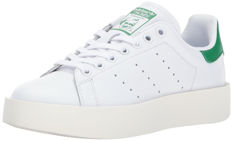 the best attitude a15c0 aa95b adidas Originals Women s Stan Smith Bold W Sneaker, White White Green, 10.5  Medium US  Amazon.co.uk  Shoes   Bags