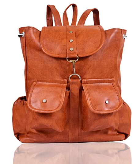 fdce0c5ef080bb Beets Collection Student Shoulder Backpack for Women & Girls Bag (Brown)  Women's Hobos and
