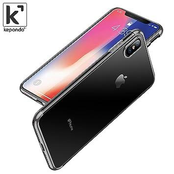 coque ultra fine silicone iphone x