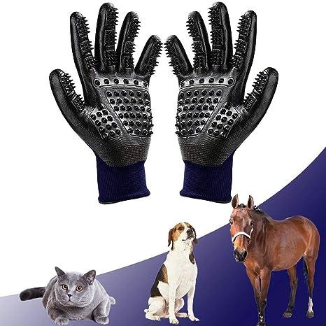 Guante de aseo para mascotas, herramienta para quitar el pelo de gatos y perros,