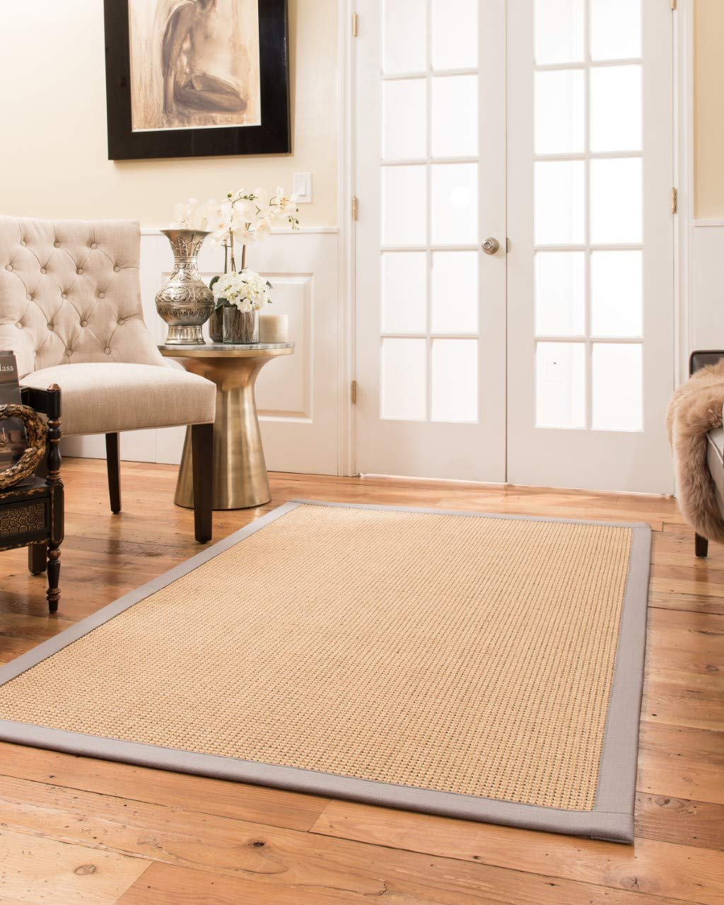 Natural Area Rugs benedict Area Rug 6 x 9 Metal