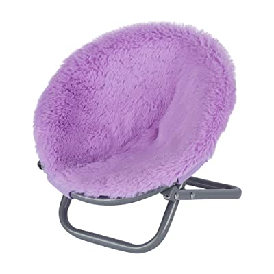 """My Life As Lavender/Purple Saucer Chair for 18"""" Dolls: Toys & Games"""