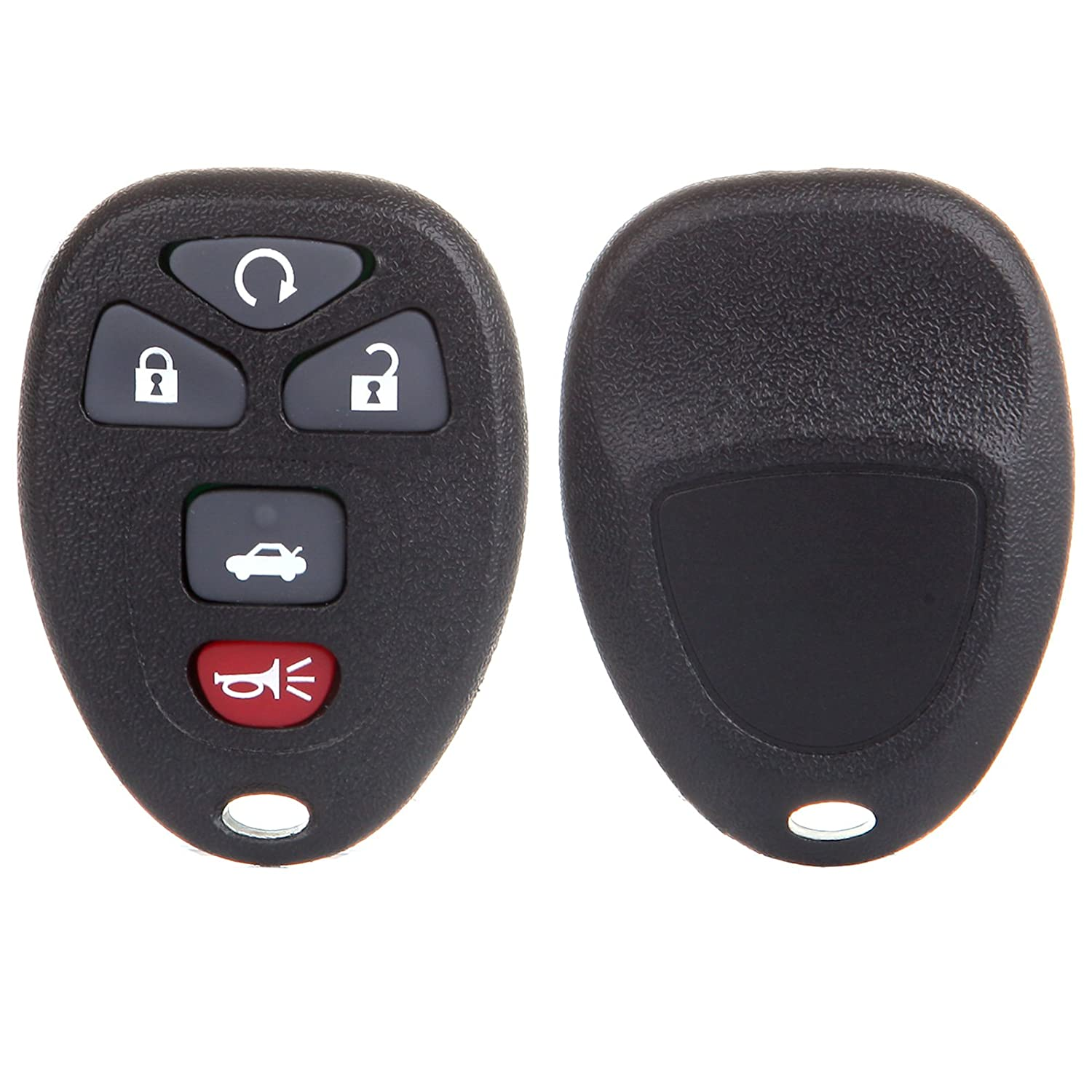 SCITOO Replacement fit for 2PCS Keyless Entry Remote Fob Chevy Saturn Buick Pontiac Series KOBGT04A