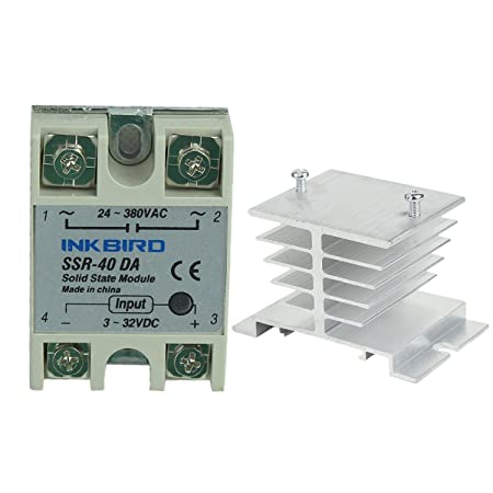 713cNBSnf1L._SY450_ amazon com inkbird ssr solid state relay heat sink (inkbird ssr Fotek SSR-25DA at readyjetset.co