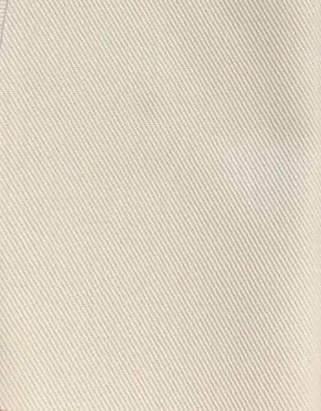 Blanco Bull Denim Tela de algodón 12 oz 58 – 60