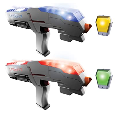 Laser X Sport Blasters 88848 2 Player Set - Two Laser Blasters and Receivers: Toys & Games