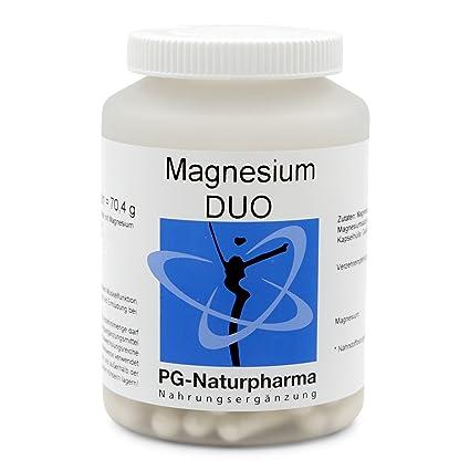 Citrato de magnesio, 120 cápsulas con 150 mg de citrato de magnesio puro - para