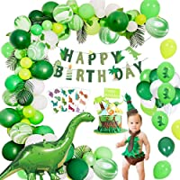 MMTX Birthday Party Decorations Kit, Jungle Dinosaur Kid's Party Supplies World Jurassic Style Dinosaur Happy Birthday…