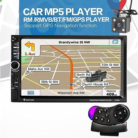 GPS 7020G, 7 pulgadas, con Bluetooth, para el coche